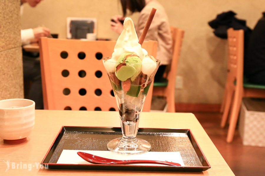 【京都出町柳甜點名店】茶房 いせはん:京風芭菲 パフェ Parfait