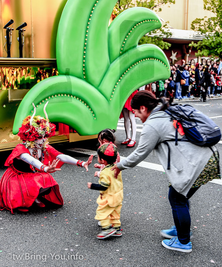大阪環球影城萬聖節遊行