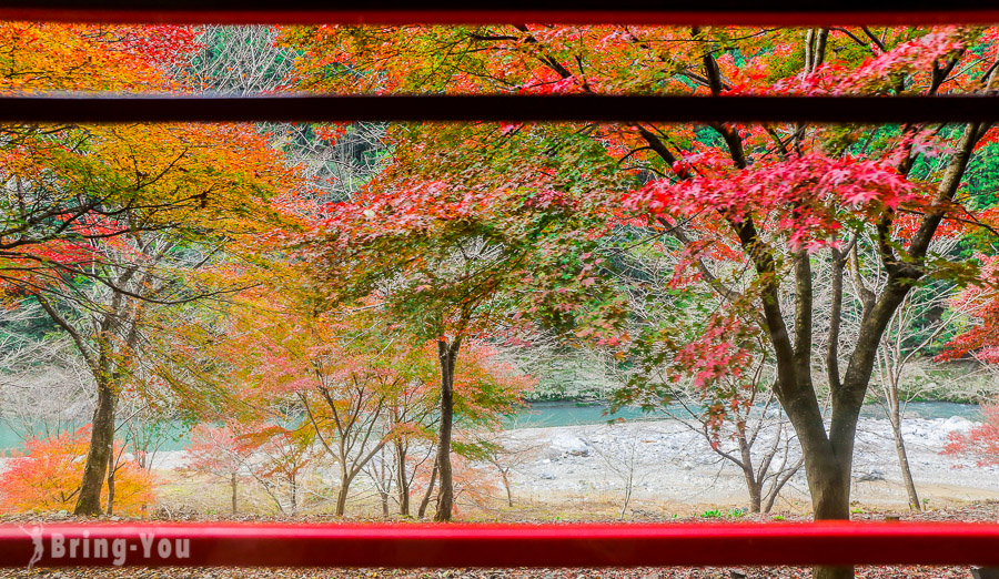 嵐山小火車