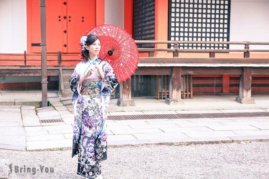 【京都和服出租體驗】夢館振袖體驗分享,華麗變身全場注目焦點!