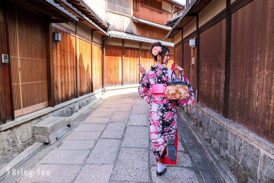 【清水寺私房景點】寧寧之道、石塀小路,寧靜清幽的京都好去處