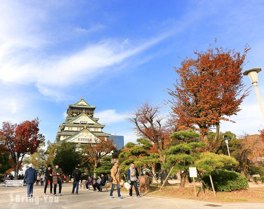大阪賞楓景點