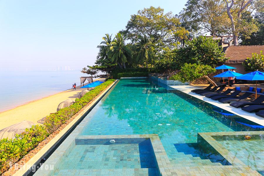 【芭達雅住宿推薦】U Pattaya 超美海景無邊際泳池,就是要住滿24小時耍廢