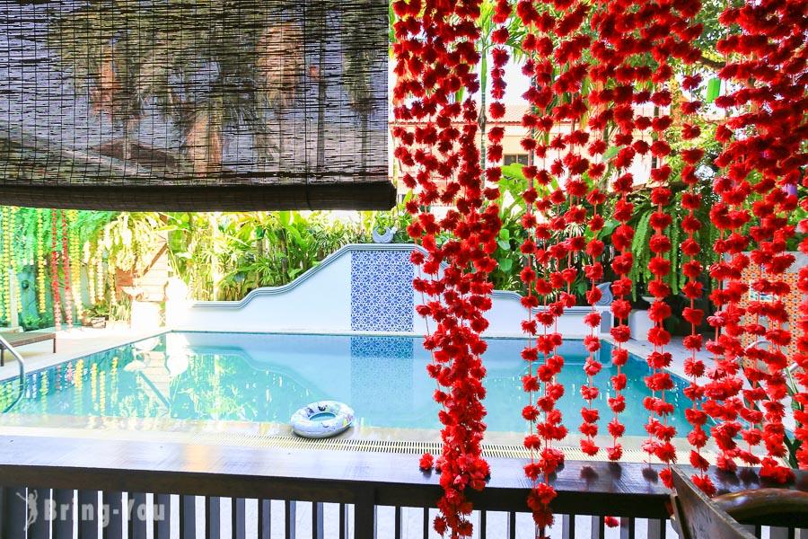 【清邁古城區中心住宿推薦】Baan Huen Phen,市區的渡假飯店