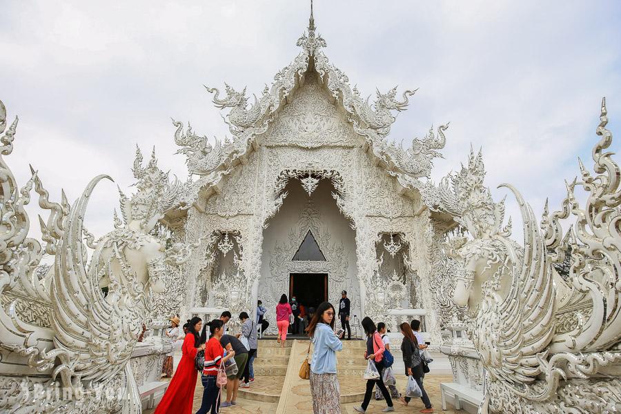 【清萊必去景點】黑廟、白廟、藍廟在地團一日遊|走訪泰北不可錯過的景點