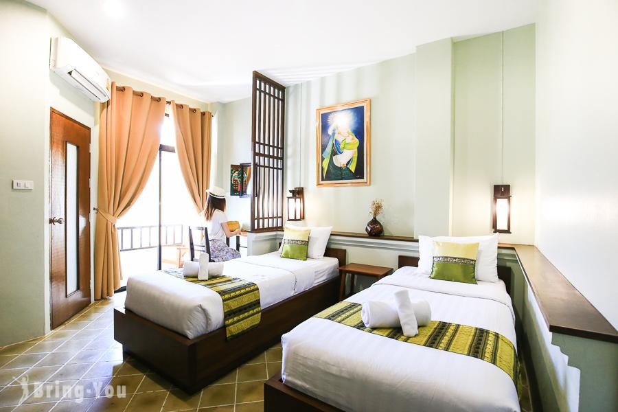 【清邁住宿】古城區CP值高平價住宿,Huen Hug Chiang Mai