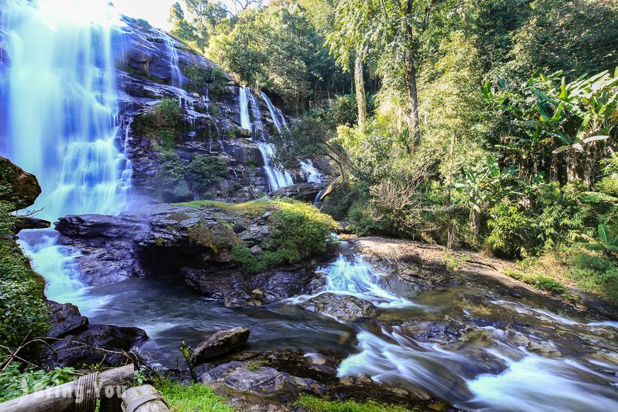 茵他儂國家公園Wachirathan Waterfall