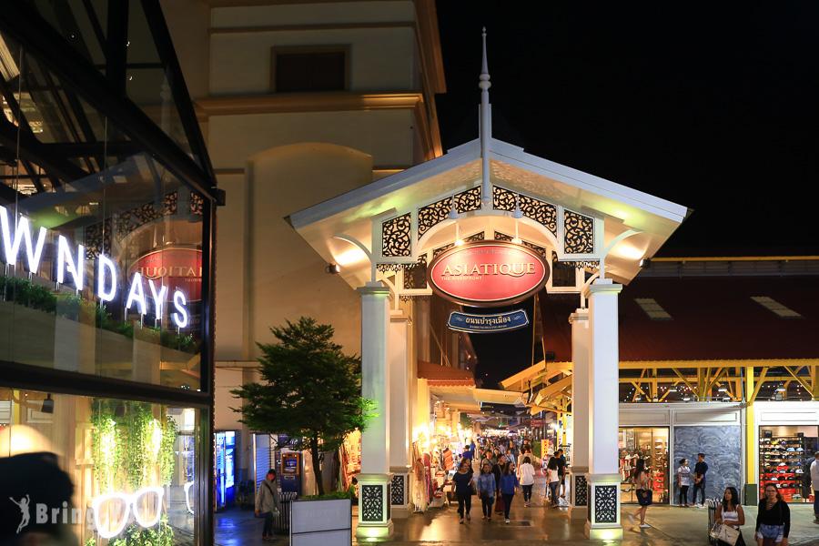 Asiatique the riverfront河濱碼頭夜市
