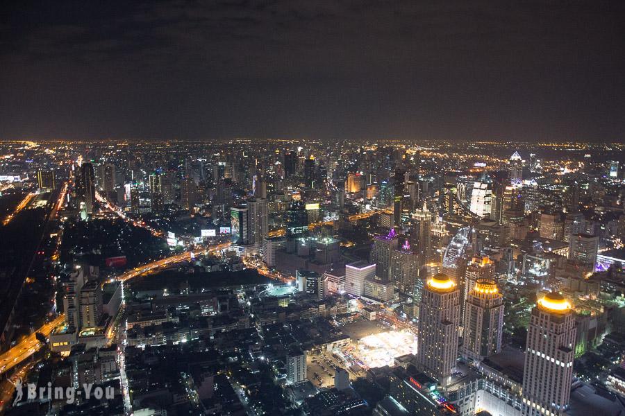 Baiyoke Sky Hotel 高空觀景台夜景