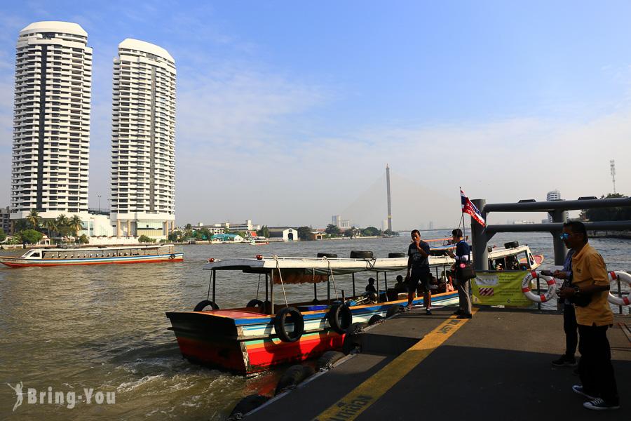 長尾船遊湄南河.昭披耶河