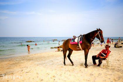 【泰國華欣景點】華欣海灘 Hua Hin Beach、Suan Son Pradipat Beach 秘密海灘推薦