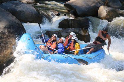 【泰北|清邁急流泛舟】Mae Tuen River湄汀河10公里白水漂流