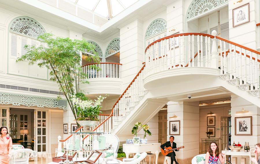 【曼谷推薦必去】來去「曼谷文華東方 Authors' Lounge」享受優雅的貴婦下午茶