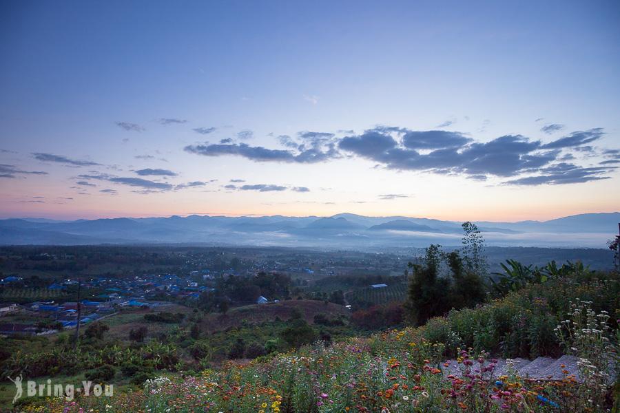 雲來觀景台看日出