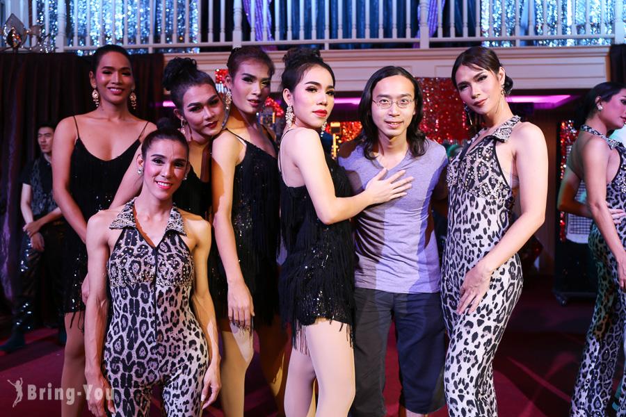 【曼谷中國城人妖秀推薦】Playhouse人妖秀,結合魔術秀的精彩表演