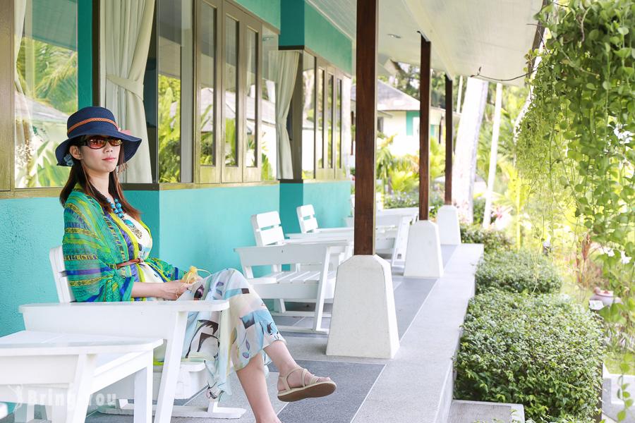 【沙美島住宿】Saikaew Beach Resort 薩卡威海灘渡假村 – 植物園風放空飯店
