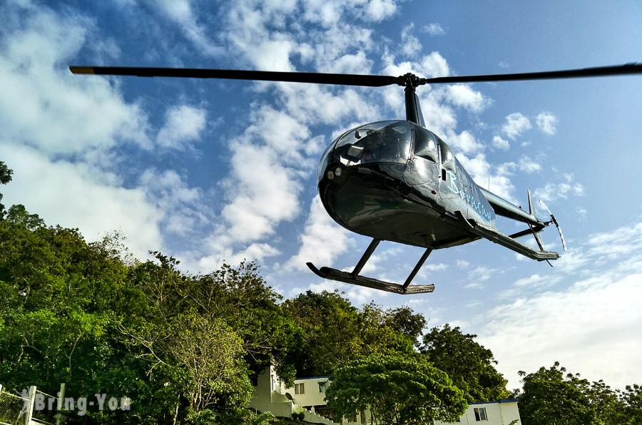 【長灘島好玩】體驗高空俯瞰沙灘與海水的直升機之旅,你能認出幾座島呢?