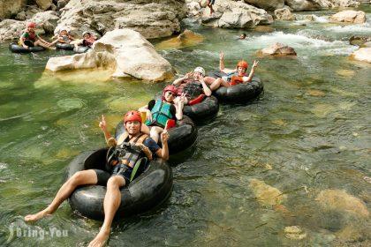 【長灘島Tibiao冒險探秘】急流泛舟、雨林瀑布、食人族SPA一日遊