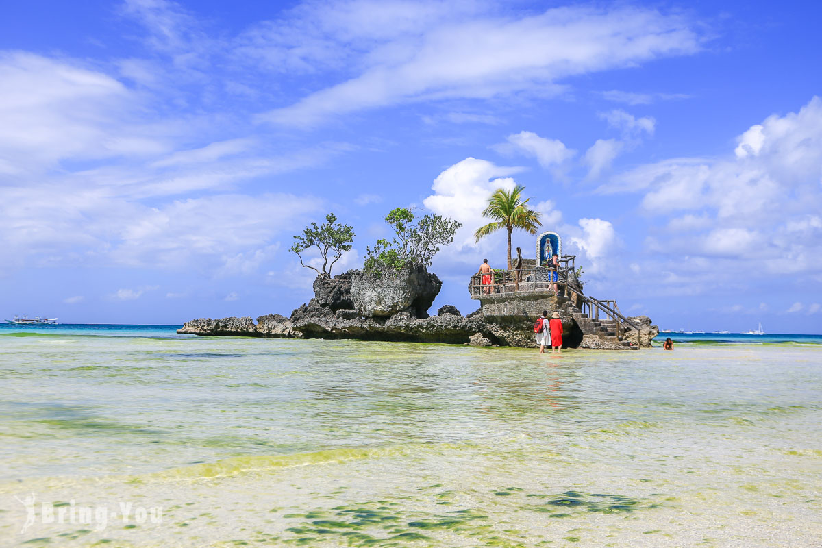【長灘島白沙灘景點】星期五沙灘.風帆船.聖母礁岩.S1 S2 碼頭