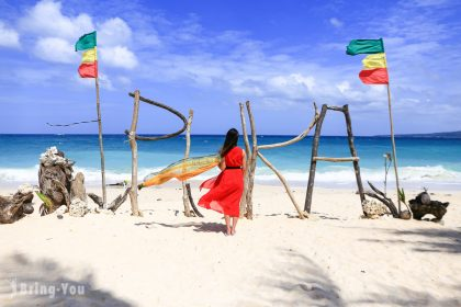 【長灘島景點】長灘島超美貝殼沙灘「普卡海灘 Puka Beach」