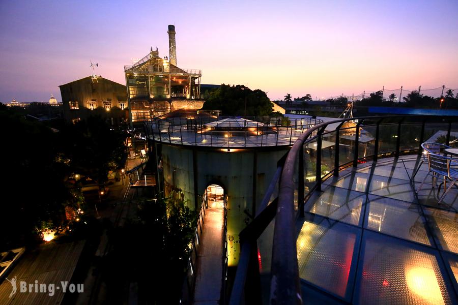 【台南仁德景點】好玩的十鼓文化園區:推薦必去超夢幻糖廠天堂路夜景