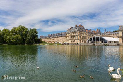 【楓丹白露宮秘密景點】歐式庭園「大花壇」、鯉魚池、法國皇家狩獵場享受法式悠閒與愜意