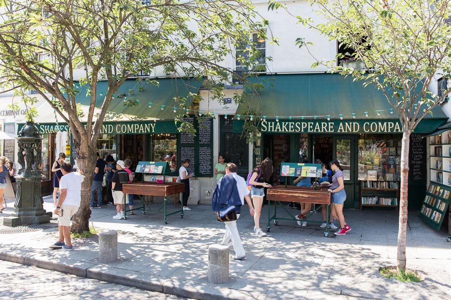 法國巴黎|莎士比亞書店:沈浸在世界最美書店中