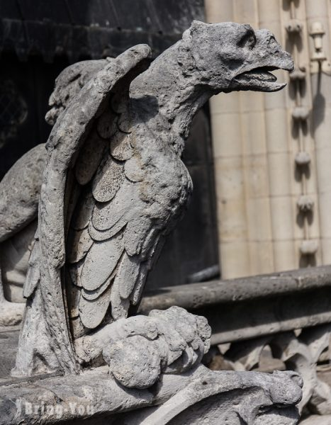 巴黎聖母院石像