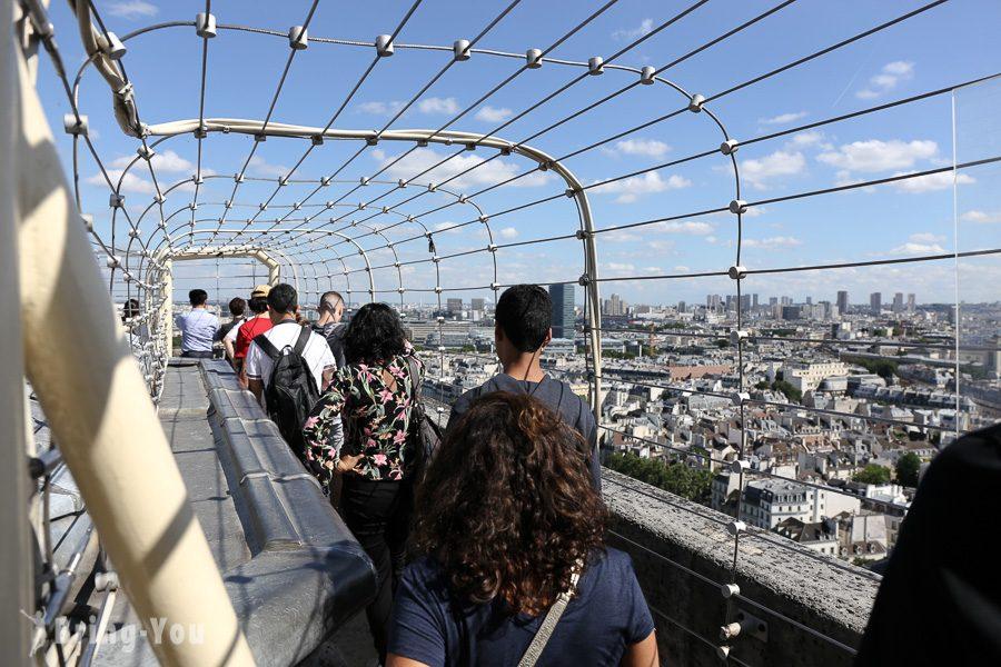巴黎聖母院眺望市區