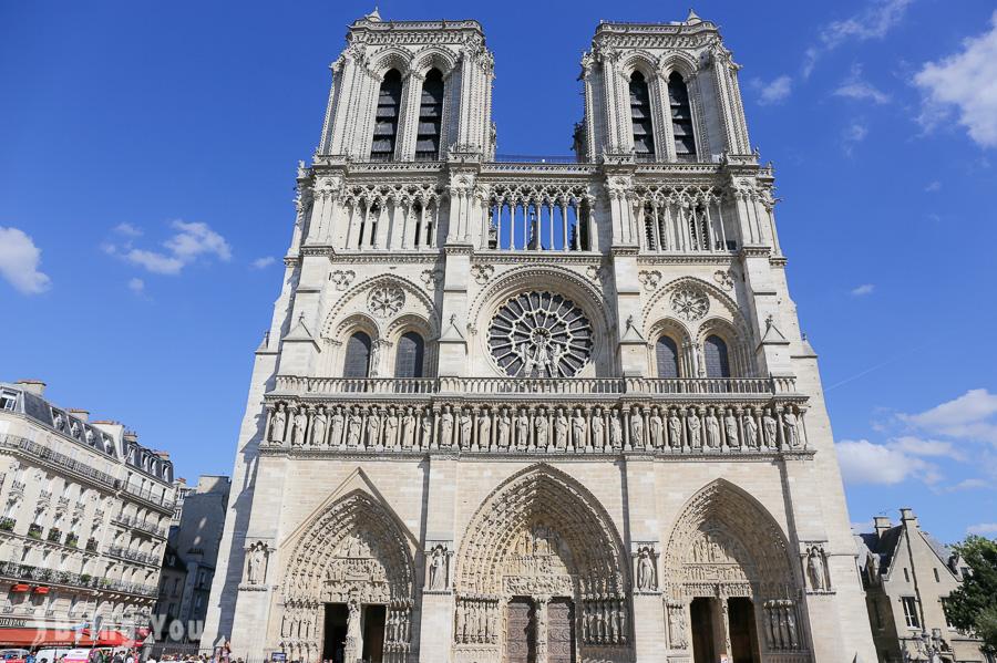 【巴黎聖母院教堂】完美對稱,堪稱歐洲中古世紀最優的哥德式建築物
