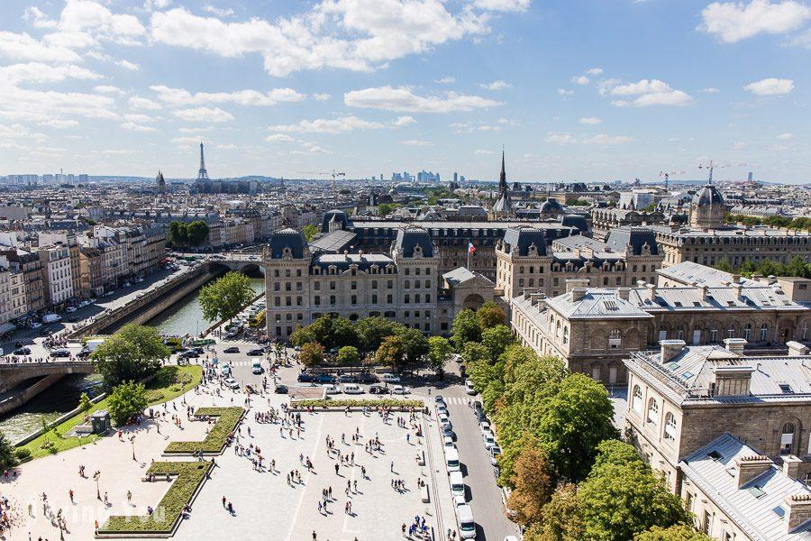 巴黎聖母院景色