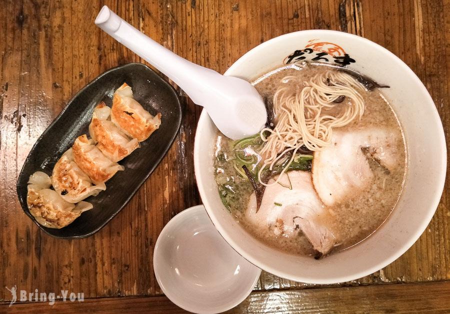 【博多車站美食】元祖博多だるま(達摩拉麵),福岡好吃豚骨拉麵
