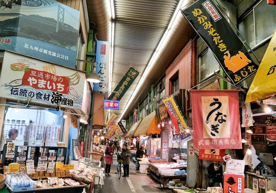 【小倉必逛】旦過市場:充滿昭和氛圍的北九州在地廚房+必吃名物魚板