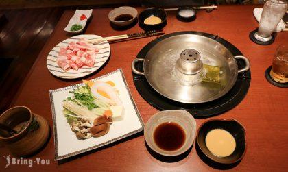 【熊本美食】菅乃屋馬肉專門店,特色馬肉涮涮鍋料理