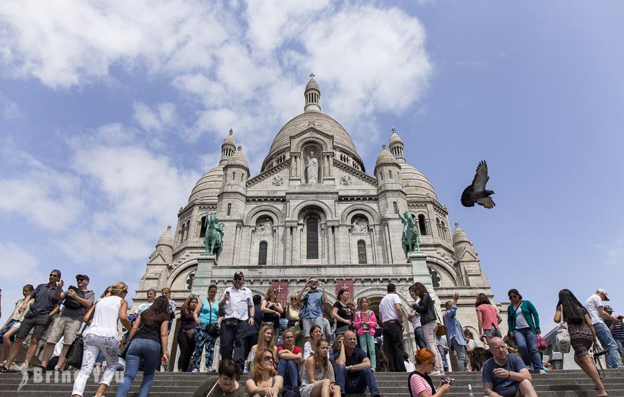 【巴黎蒙馬特景點】聖心堂、小丘廣場畫家村、愛牆(治安防範必看)