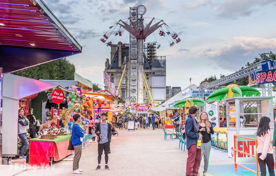 【巴黎塞納河右岸景點】杜樂麗花園、杜樂麗嘉年華遊樂園、協和廣場(吉普賽人問卷黨被搶故事)