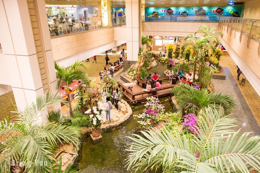 新加坡樟宜機場第二航廈花園