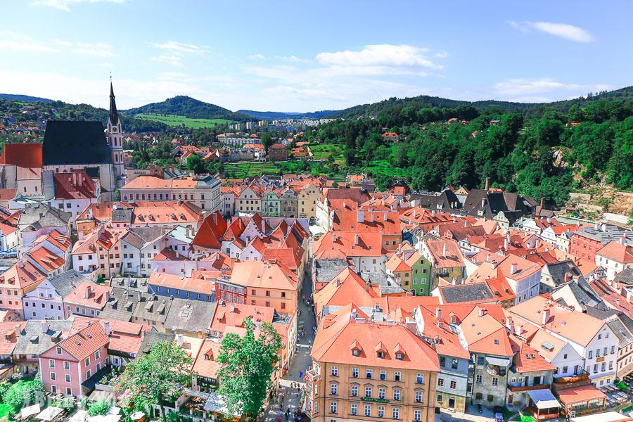 【捷克自由行】庫倫洛夫(Český Krumlov)CK小鎮旅遊景點、交通、行程、住宿、美食攻略