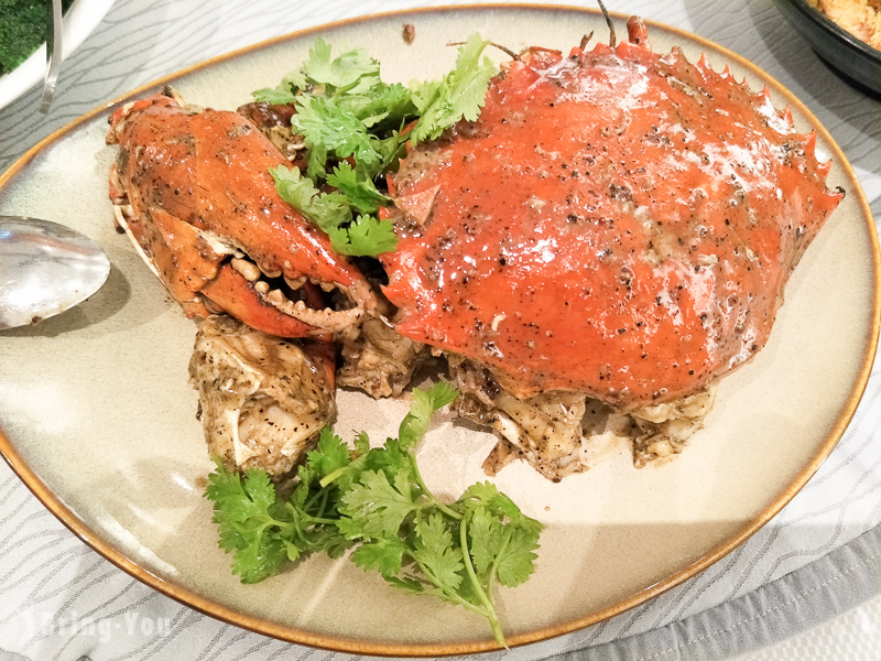 新加坡克拉碼頭珍寶海鮮樓黑胡椒螃蟹