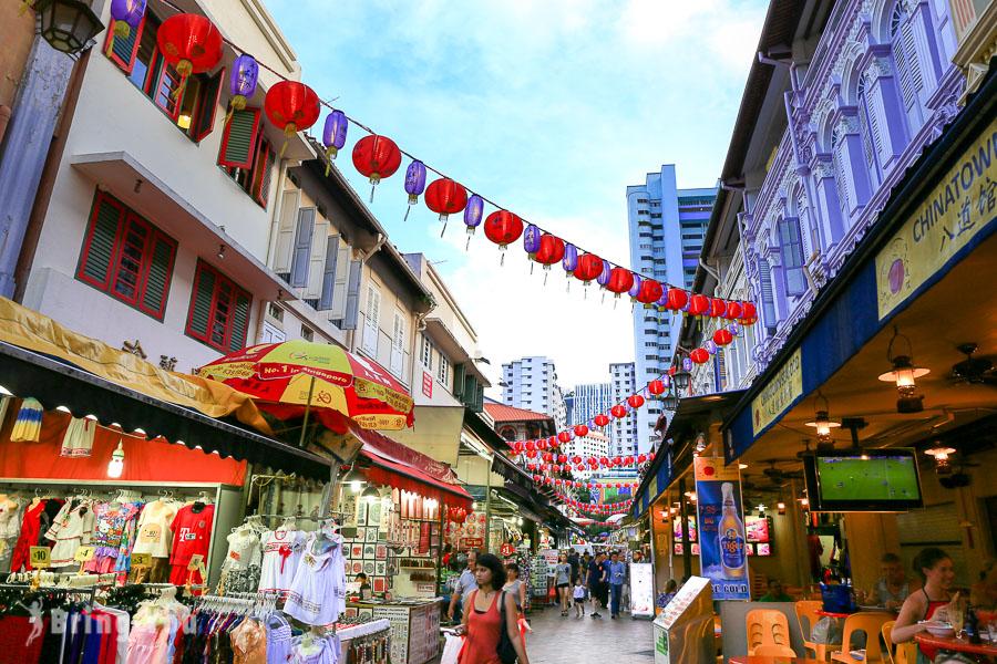 【牛車水Chinatown】新加坡中國城景點真好玩,美食、購物、飯店樣樣有,還有推薦辣椒螃蟹餐廳喔!