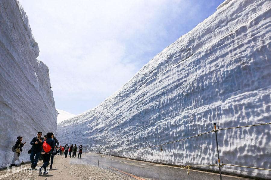 【立山黑部自由行】2020開山資訊、阿爾卑斯山脈路線雪牆散步一日遊