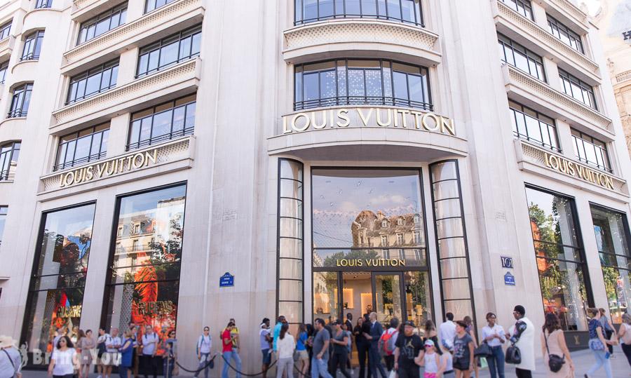 巴黎香榭麗舍大道逛街攻略|推薦精品品牌&特色甜點店&附近飯店推薦