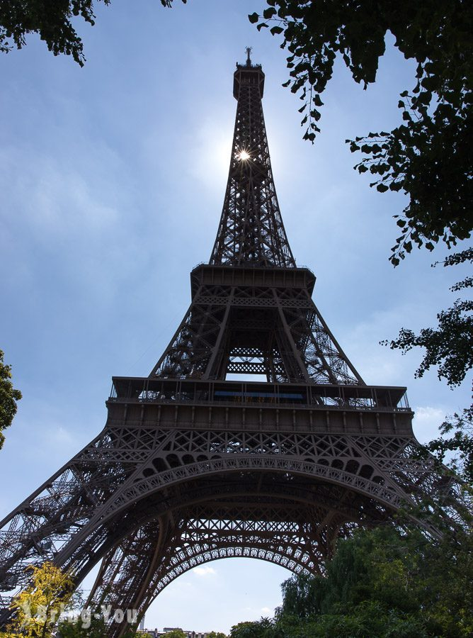 艾菲爾鐵塔, 巴黎鐵塔