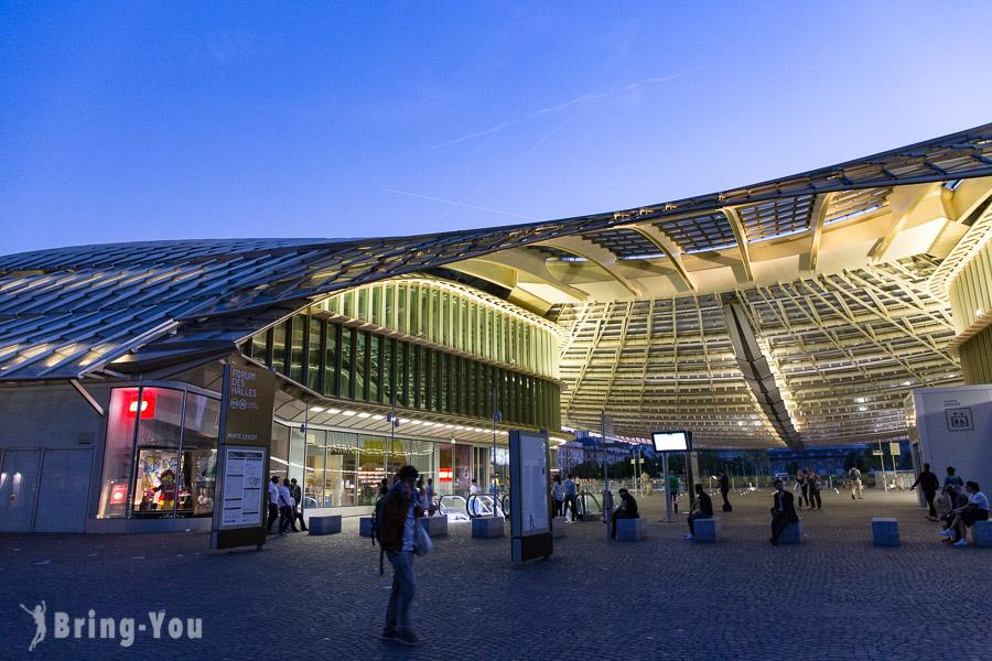 【巴黎第一區逛街新地標】巴黎大堂(Les Halles)購物中心&情趣用品街「Rue Saint denis」