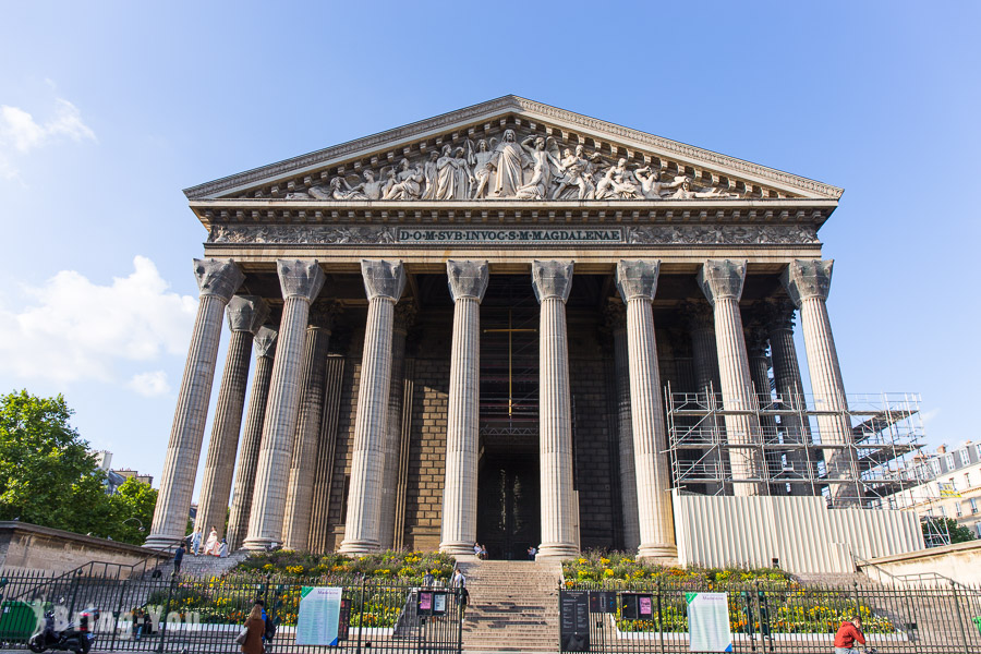 【漫遊巴黎】瑪德蓮教堂/馬德萊娜教堂 & 周圍買伴手禮好去處FAUCHON