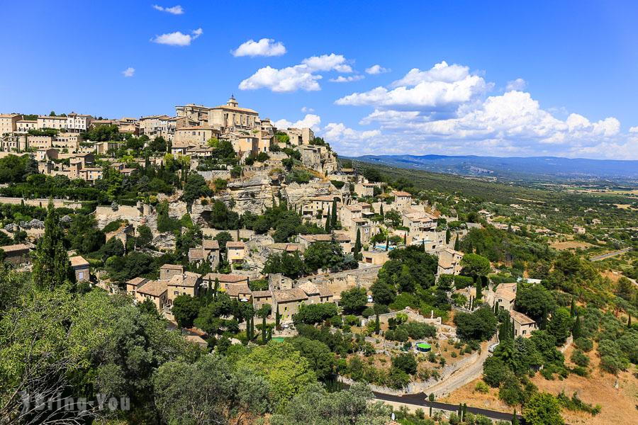 【南法景點】索村Sault薰衣草、紅土城Roussillon、石頭城Gordes、塞南克修道院、水泉村