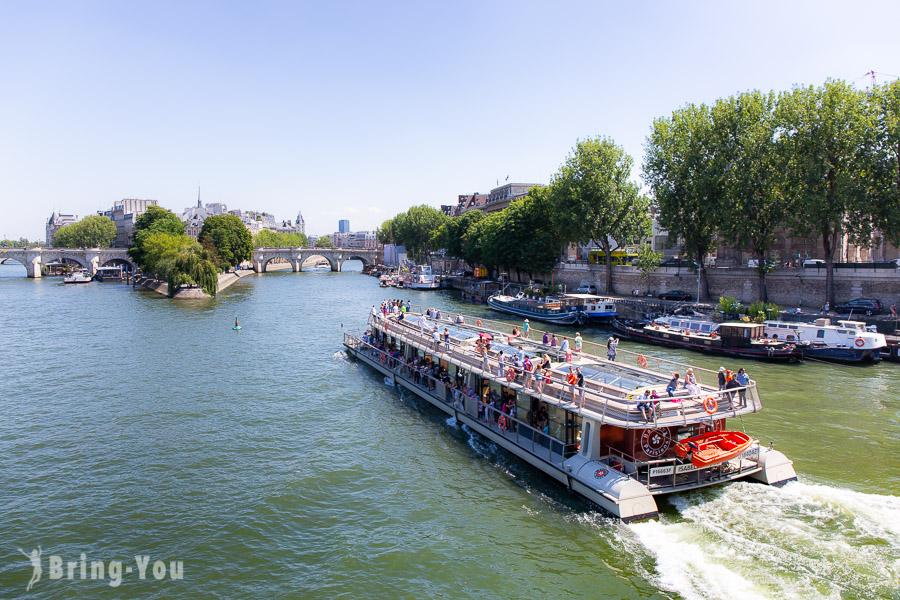 【法國巴黎必去景點】浪漫的塞納河畔(Seine))特色橋樑&塞納河遊船介紹