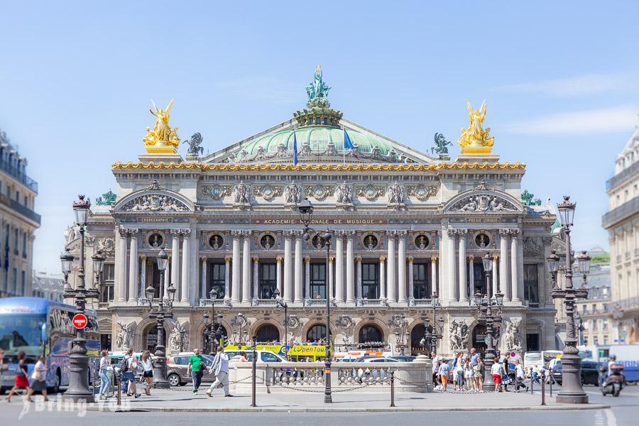 【漫遊巴黎】巴黎歌劇院/加尼葉歌劇院:歌劇魅影場景&周邊餐廳、酒吧介紹