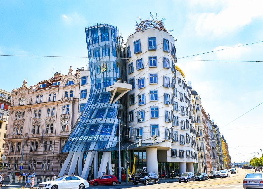【布拉格新城區】「跳舞的房子」伏爾塔瓦河畔後現代建築巡禮、瓦茨拉夫廣場