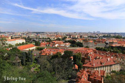 【布拉格城堡區景點】黃金巷之卡夫卡故居、眺望捷克布拉格市景的葡萄園